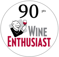 Wine Enthusiast 90 point 0